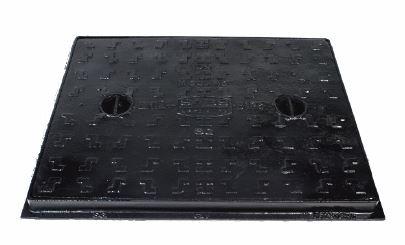 600 X 450 RECTANGULAR MANHOLE COVER & FRAME SANSPAR IMAGE
