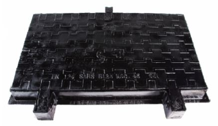 900 X 450 RECTANGULAR MANHOLE COVER & FRAME SANSPAR IMAGE