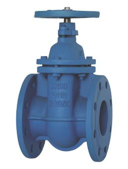 uni-flo Din Solid Wedge Gate Valve Fig 10 Sanspar