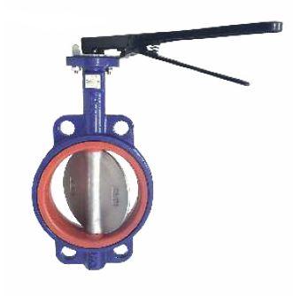 uni-flo wafer butterfly valves, polyurethane liner, PN16 Sanspar